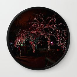 Chicago at Christmas: Zoo Lights #2 (Chicago Christmas Collection) Wall Clock