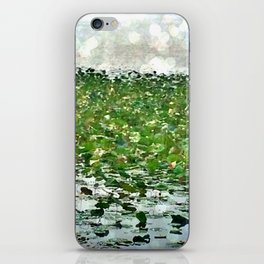 Lily Pads On The River iPhone Skin