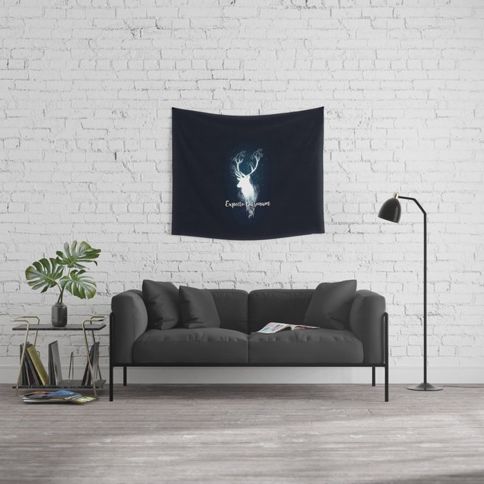 Expecto Patronum Wall Tapestry
