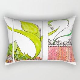 Aronia Vulgare Rectangular Pillow