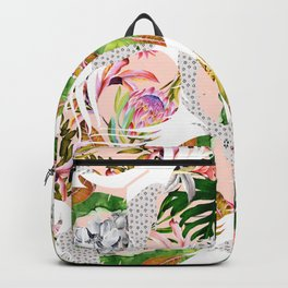 Tropical feathers Backpack