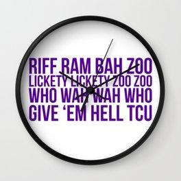 Riff Ram Wall Clock