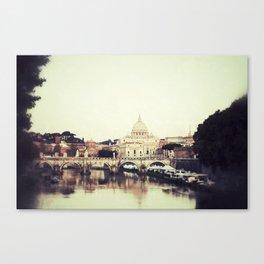 Tiber River Canvas Print