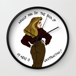 Roz Doyle Pin-up Wall Clock