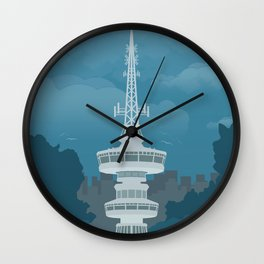 Thessaloniki, Telecommunications Tower (GR) Wall Clock