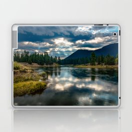 Snake River Revival - Morning Along Snake River in Grand Tetons Laptop & iPad Skin