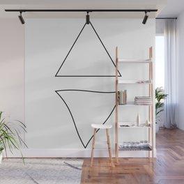 Triangle Twist  Wall Mural