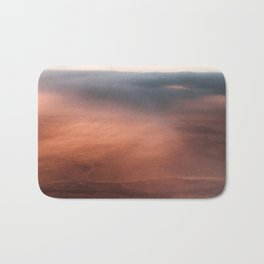 Above the Cloud Looking over the Earth - Landscape Photography Bath Mat