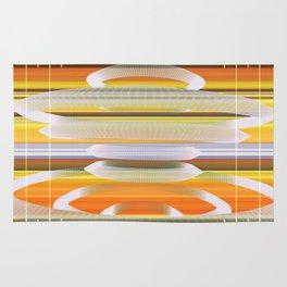 Saucer Shapes Rug