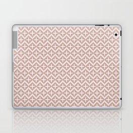 Guarda Pampa Pattern: Steps & Crosses in Soft Earth Tones Laptop & iPad Skin