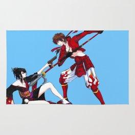 Nouhime vs Yukimura Rug