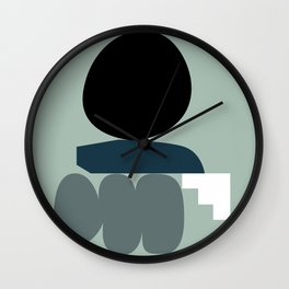 Shape study #19 - Stackable Collection Wall Clock