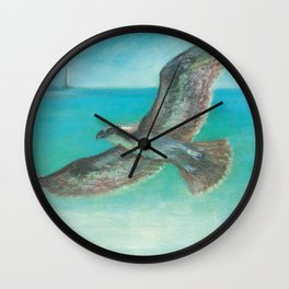 Belle's Journey: Island Hopping Wall Clock