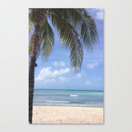 Caribbean Blues Canvas Print