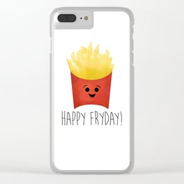 Happy Fryday! Clear iPhone Case