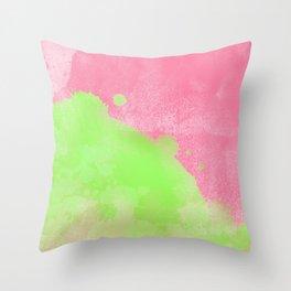 Pinkgreen SplashUp Throw Pillow