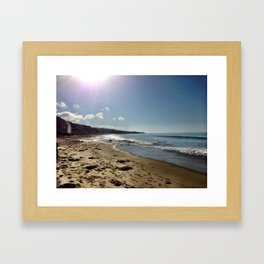 Newport Beach, California Framed Art Print