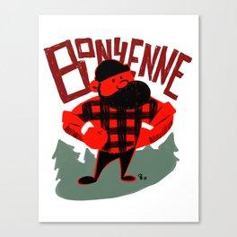 Bonyenne Canvas Print