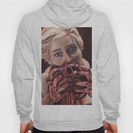 Mother of Dragons Eating a Horse Heart Hoody