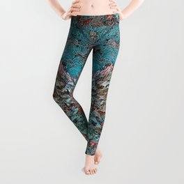 Seahorse in Glass Cradle Leggings