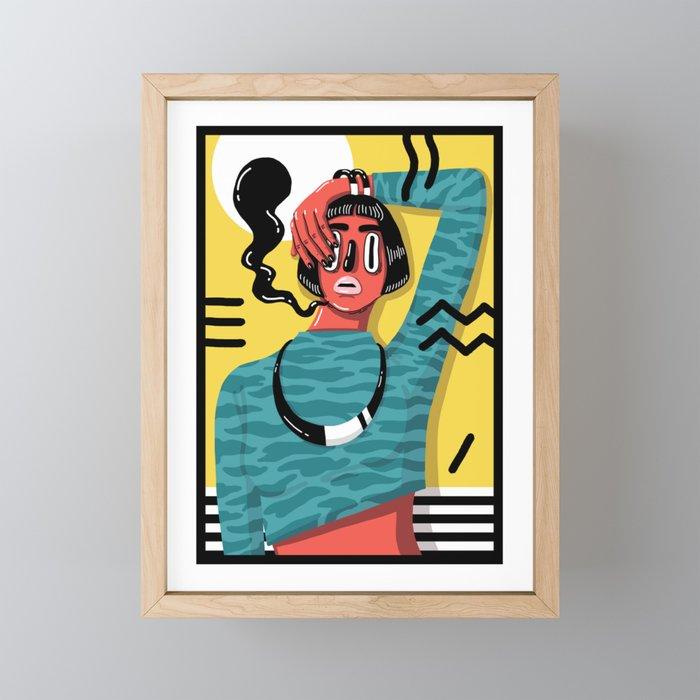 POP 1 Framed Mini Art Print