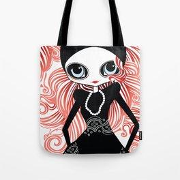Miss Tresses Tote Bag