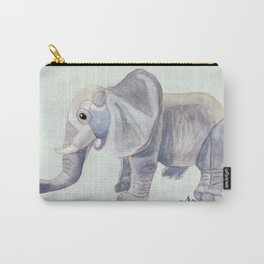 Cuddly Elephant II Carry-All Pouch