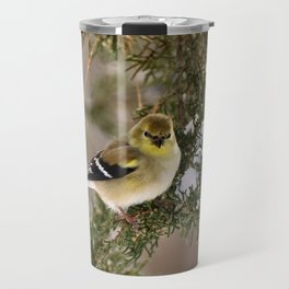 Professor Goldfinch Travel Mug