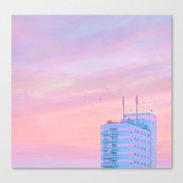 Hiroshima Dawn Canvas Print