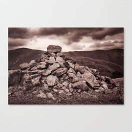 Others have been here before Canvas Print