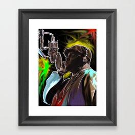 B.I.G. Framed Art Print