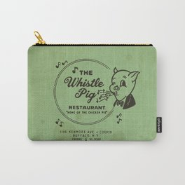 Whistle Pig Restaurant Carry-All Pouch