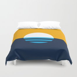 The People's Flag of Milwaukee Duvet Cover