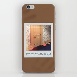 Doog os saw? … Was so good! iPhone Skin