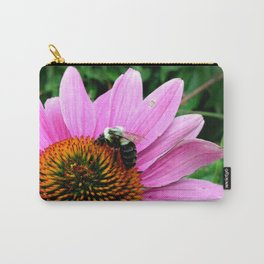 Echinacea with Bee Carry-All Pouch