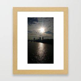 South Bank London Framed Art Print