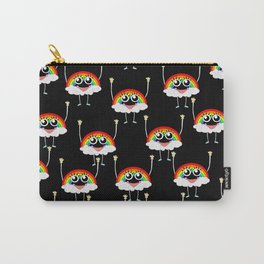 PRIDE: Rainbeau on black Carry-All Pouch