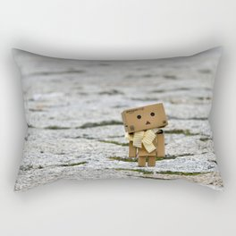 I'm on the world alone and yet not alone enough ... Rectangular Pillow