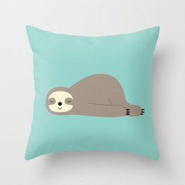 Do Nothing Throw Pillow