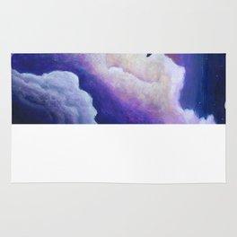 Soaring Through the Clouds -The Groundbird Rug