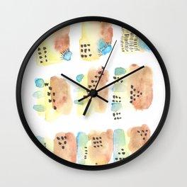 170327 Watercolor Scandic Inspo 3 Wall Clock