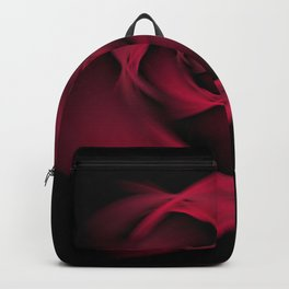 Abstract Rose Burgundy Passion Backpack