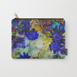 Ice Flowers Carry-All Pouch