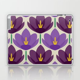 Crocus Flower Laptop & iPad Skin