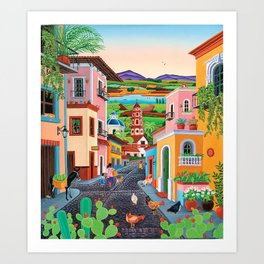 Mi Pueblito Art Print