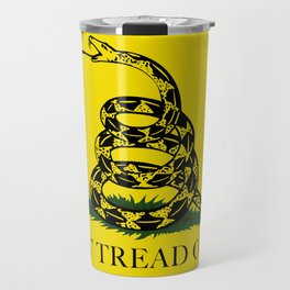 "Gadsden ""Don't Tread On Me"" Flag, High Quality image Travel Mug"