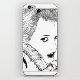 asc 525 - La langue du diable (My devil's tongue) iPhone Skin