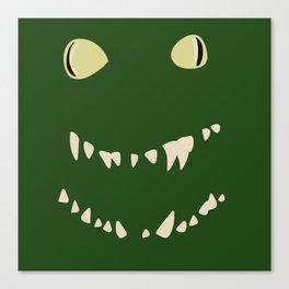 Derpy Croc Canvas Print