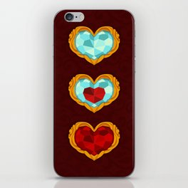 HEART CONTAINER iPhone Skin