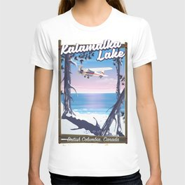 kalamalka lake, British Columbia Canada T-shirt